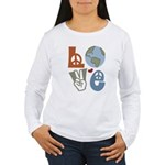 Love Earth Women's Long Sleeve T-Shirt