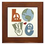 Love Earth Framed Tile