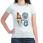 Love Earth Jr. Ringer T-Shirt