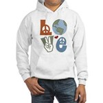 Love Earth Hooded Sweatshirt
