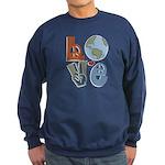 Love Earth Sweatshirt (dark)