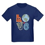 Love Earth Kids Dark T-Shirt