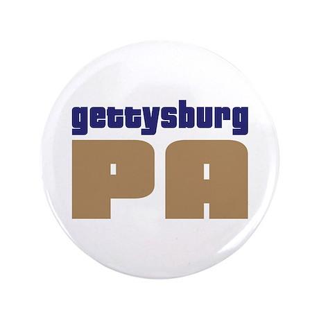 "Navy Gettysburg Pennsylvania 3.5"" Button"