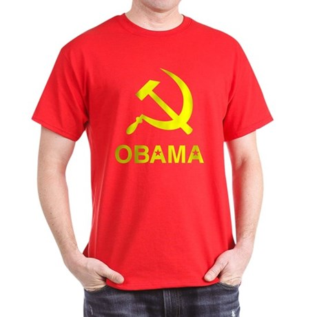 Socialist Obama Dark T-Shirt