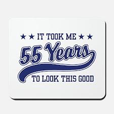55th Birthday Mousepad