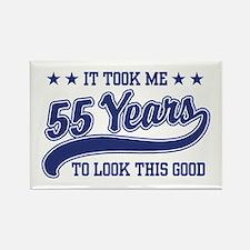 55th Birthday Rectangle Magnet