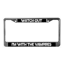Twilight Vampire License Plate Frame
