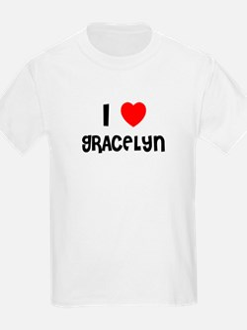 I LOVE GRACELYN Kids T-Shirt