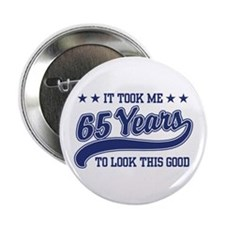 "65th Birthday 2.25"" Button"