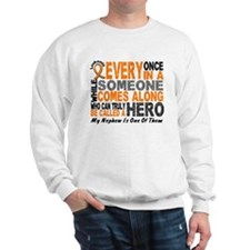 HERO Comes Along 1 Nephew LEUKEMIA Sweater