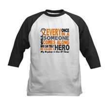 HERO Comes Along 1 Nephew LEUKEMIA Tee