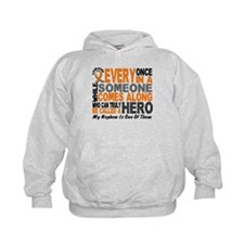 HERO Comes Along 1 Nephew LEUKEMIA Hoodie