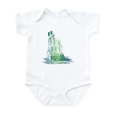 Pirate Ship / Aquatic Design Infant Bodysuit