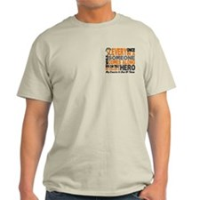 HERO Comes Along 1 Cousin LEUKEMIA T-Shirt