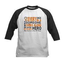 HERO Comes Along 1 Cousin LEUKEMIA Tee