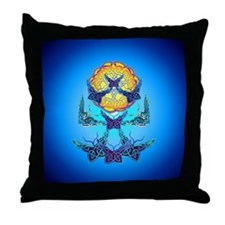 Imbolc Butterflies Throw Pillow