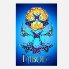Imbolc Butterflies Postcards (Package of 8)