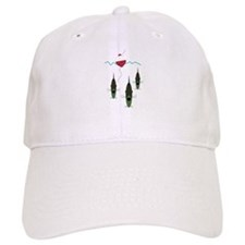 Fish and Bobber Baseball Cap