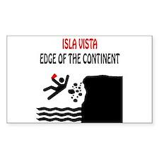 Isla Vista Edge Rectangle Decal