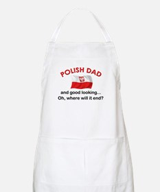 Good Looking Polish Dad BBQ Apron