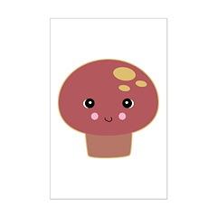 Kawaii Toadstool Mushroom Posters