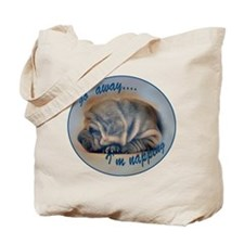 sleeping shar pei Tote Bag