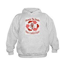 Recycle The Heads: Crawfish Hoodie