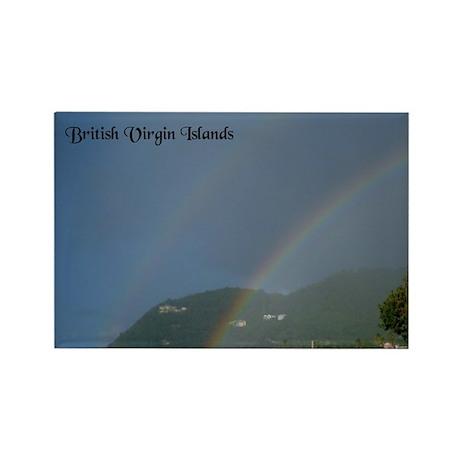 Double Rainbow over Carrot Bay Tortola BVI