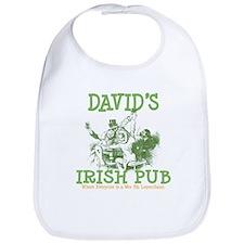 David's Vintage Irish Pub Bib