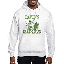David's Vintage Irish Pub Hoodie