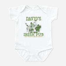 David's Vintage Irish Pub Infant Bodysuit