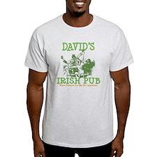 David's Vintage Irish Pub T-Shirt