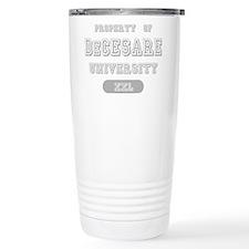 Property of DeCesare University Travel Mug