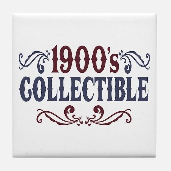 1900's Collectible Birthday Tile Coaster
