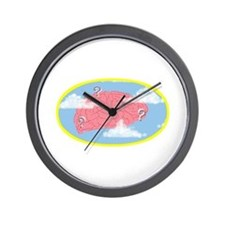 Clouded Thought - Wall Clock