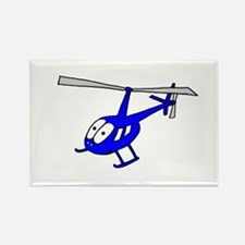 R22 Blue Rectangle Magnet