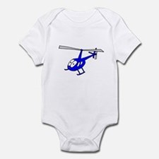 R22 Blue Infant Bodysuit