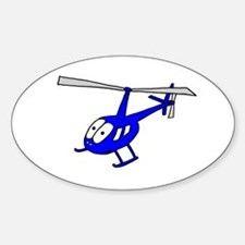 R22 Blue Oval Decal