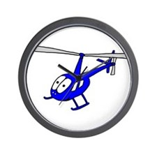 R22 Blue Wall Clock