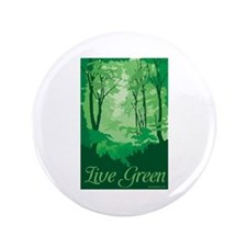 """Live Green 3.5"""" Button (100 pack)"""