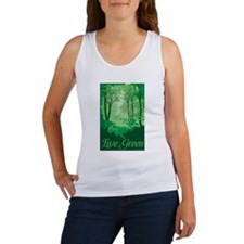 Live Green Women's Tank Top