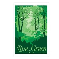 Live Green Postcards (Package of 8)