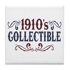 1910's Collectible Birthday Tile Coaster