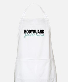 Bodyguard for the twins BBQ Apron