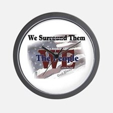We Surround Them Wall Clock