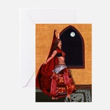 Belly Dancer Greeting Cards (Pk of 10)