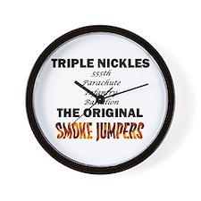 Triple Nickles Wall Clock