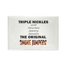 Triple Nickles Rectangle Magnet
