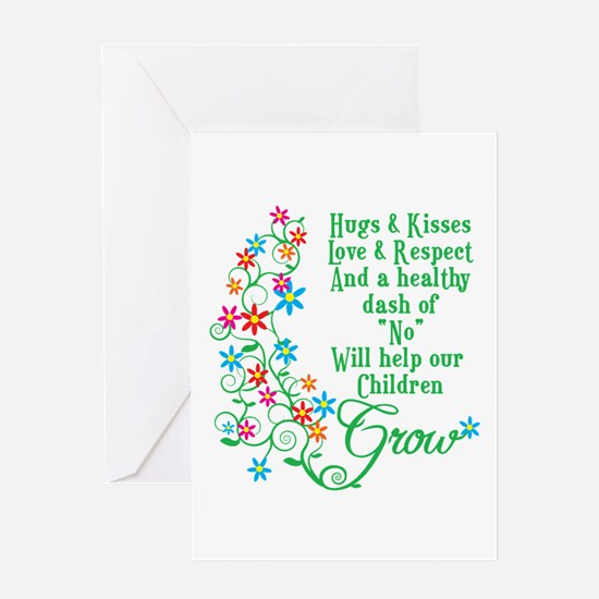 Children Grow Greeting Card