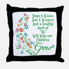 Children Grow Throw Pillow